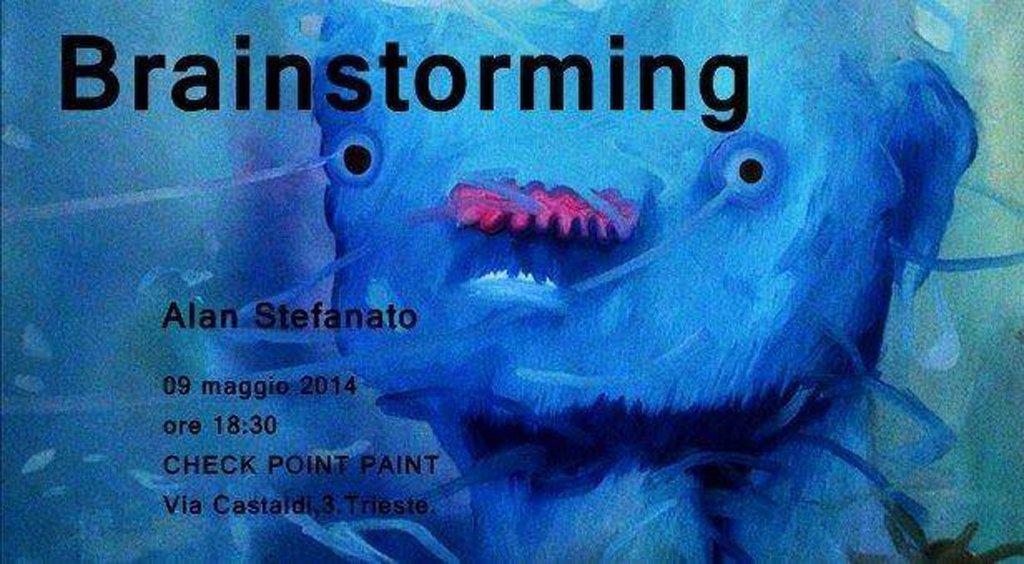 Brainstorming mostra di Alan Stefanato