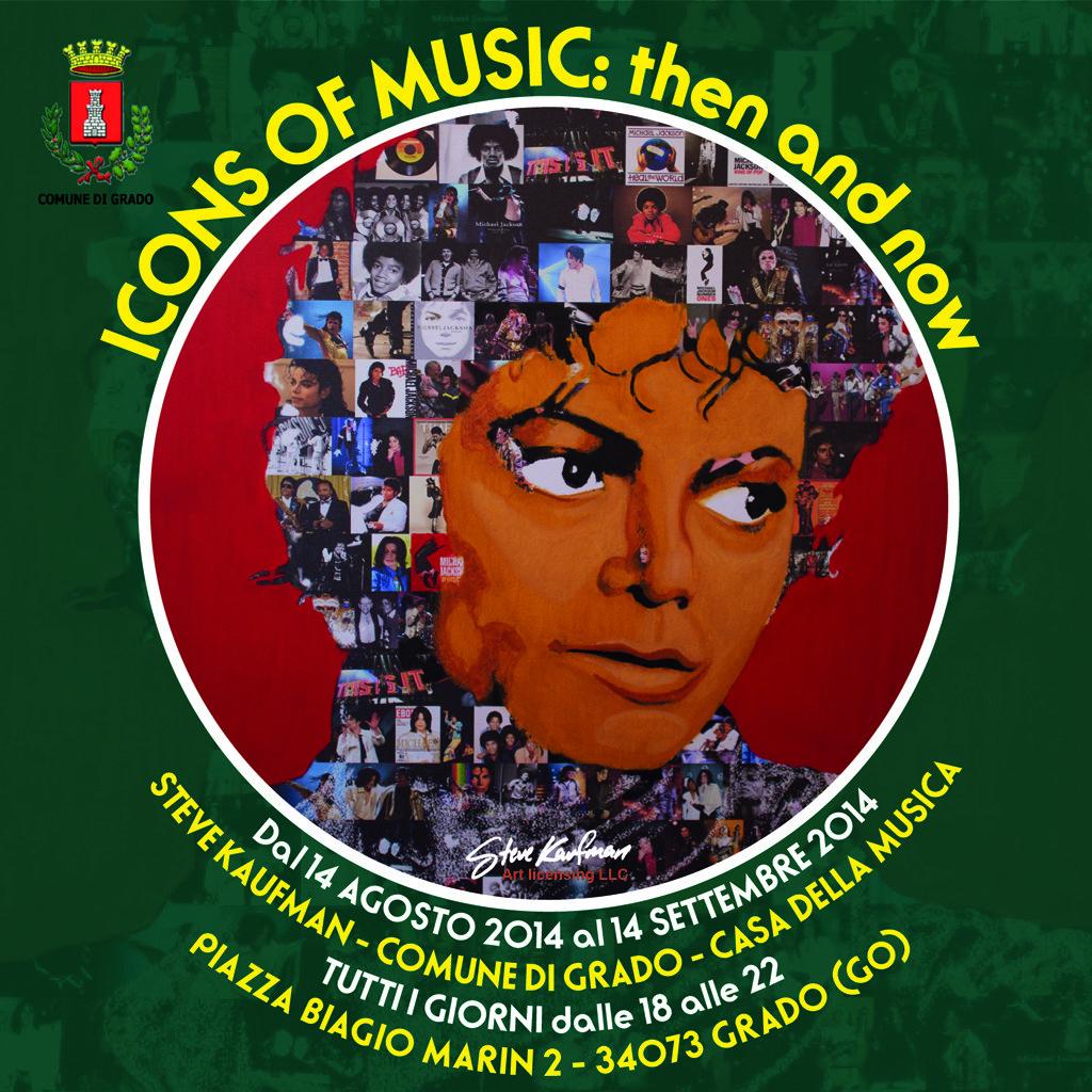 ICONS OF MUSIC Steve Kaufman a Grado - Casa della Musica