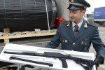 Maxi sequestro di armi nel porto di Trieste, prodotte in Turchia erano destinate al Belgio. (video)