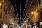 Luminarie natalizie, la città si illumina: ecco le suggestive foto di Massimiliano Rossetti