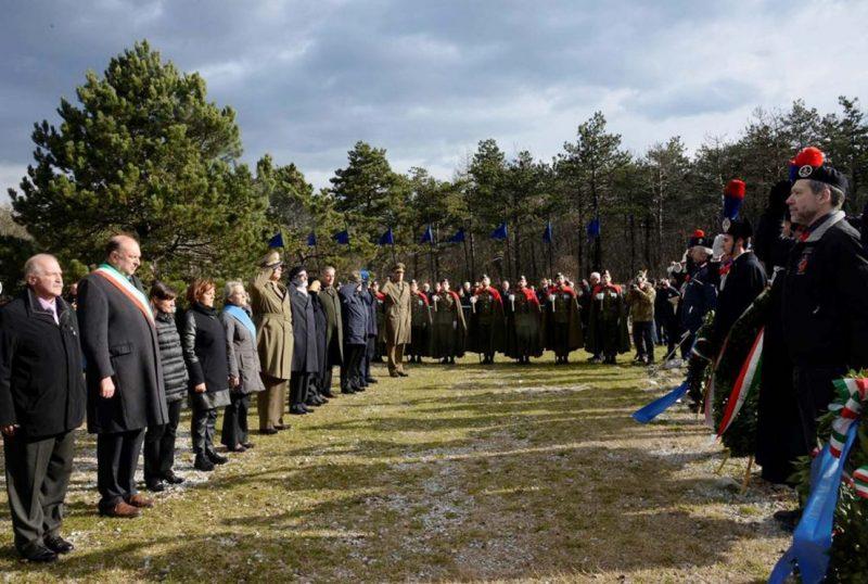 Giorno del ricordo, cerimonia solenne alla Foiba di Basovizza