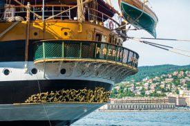 L'Amerigo Vespucci torna a Trieste: tutti gli orari di visita