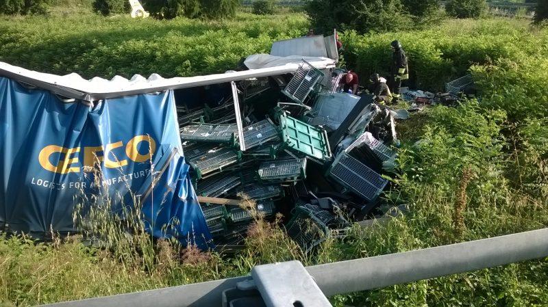 Incidente in A4, morto sul colpo il conducente del tir
