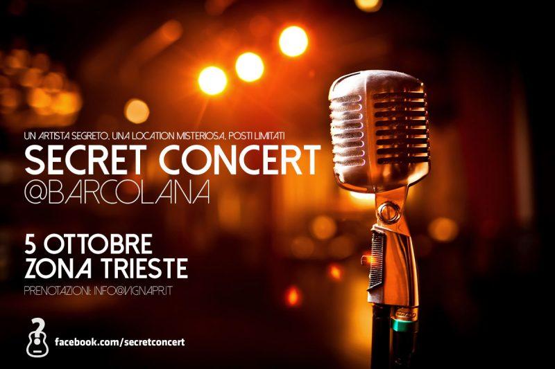 Secret Concert a Trieste, edizione speciale il 5 ottobre per la Barcolana