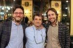 """La troupe di Report a Trieste, Bernardo Iovene all'evento """"Io bevo caffè di qualità"""""""