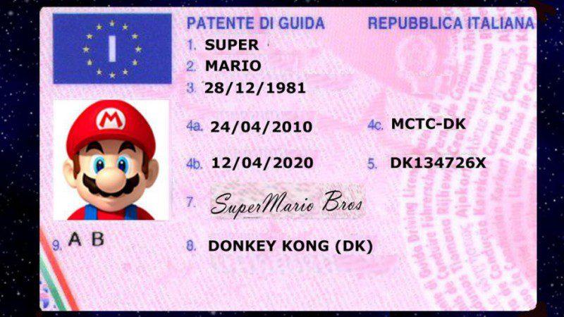 Foto patente di guida 76