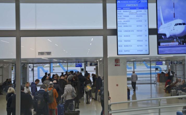 Aeroporto Ronchi : Polemica sull aeroporto di ronchi ziberna quot gelo artico e
