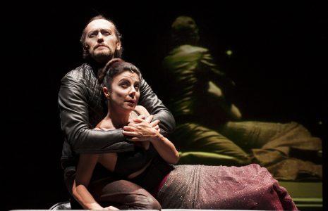 Luca Lazzareschi e Gaia Aprea protagonisti di Macbeth al Rossetti