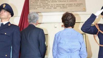Strage di via D'Amelio, scoperta a Muggia la targa commemorativa di Eddie Walter Cosina