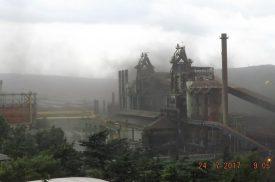 """Terza nube di polveri dalla Ferriera in un mese, la Regione: """"Urgente realizzare la copertura dei parchi fossili"""". Il Comitato 5 Dicembre scrive alla Serracchiani"""