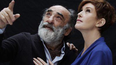 """""""Il padre"""": Alessandro Haber e Lucrezia Lante Della Rovere raccontano con commozione ed ironia  il difficile tema dell'Alzheimer"""