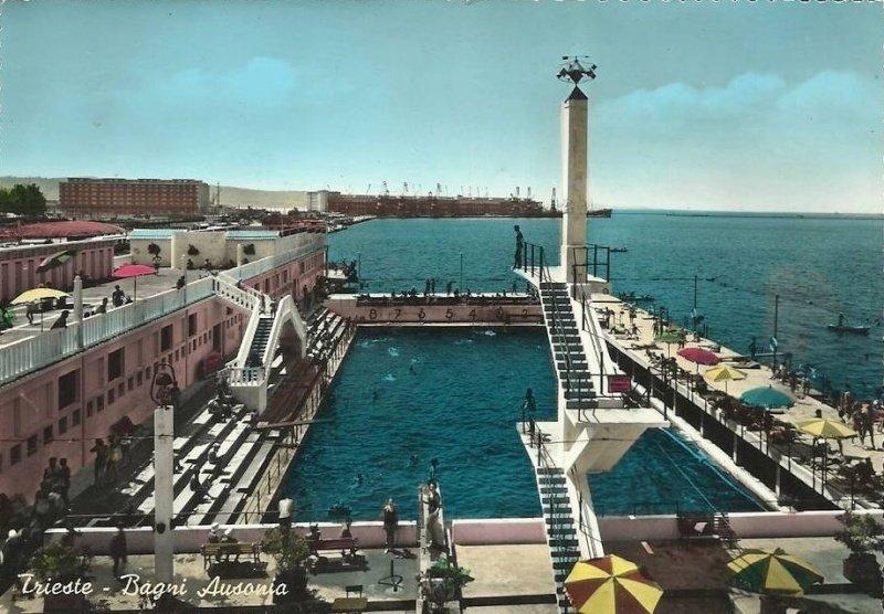 Bagno savoia ausonia la complicata storia di due stabilimenti divenuti uno solo trieste all news - Bagno ferroviario trieste ...