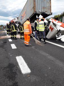 incidente in A4 Villesse Palmanova 2
