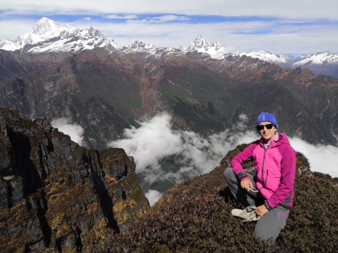Eva Godini: Trekking al Campo Base del Makalu (Nepal)