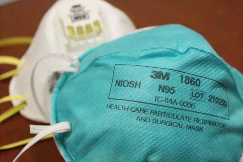 mascherina n95 niosh