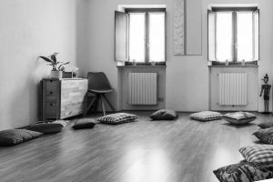 Psicodramma e Playbacktheatre: la stanza con l'assetto per i lavori di gruppo