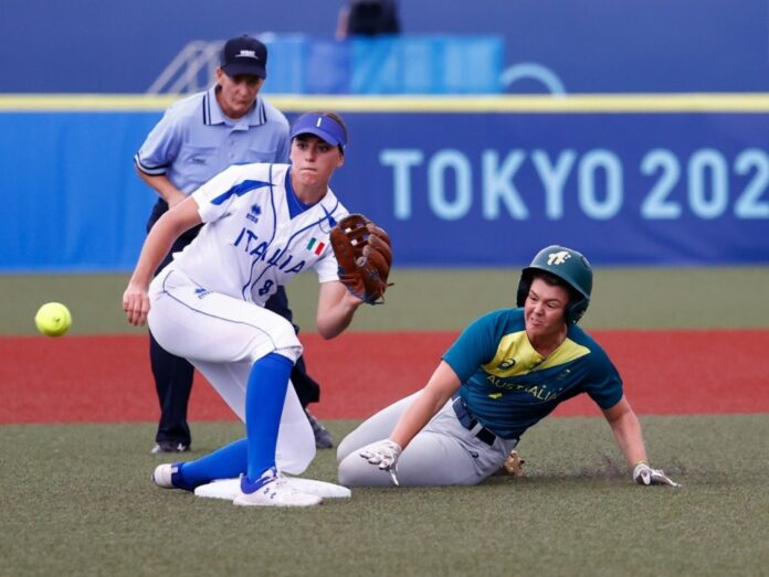tokyo2020 softball italia australia